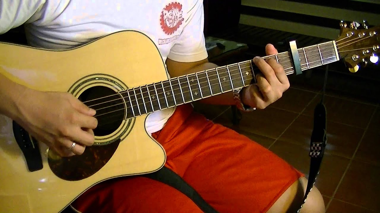 Moonlight Over Paris by Paolo Santos (guitar cover) Chords