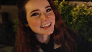 ASMR Chilling Outside of a Party (Muffled music, Soft Spoken/Whisper)
