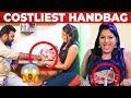 Costliest Handbag of VJ Chitra | VJ Ashiq Ultimate Comedy | What's Inside the HANDBAG