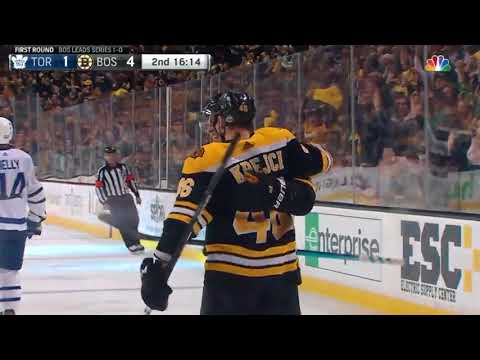 Toronto Maple Leafs vs Boston Bruins - April 14, 2018 | Game Highlights | NHL 2017/18