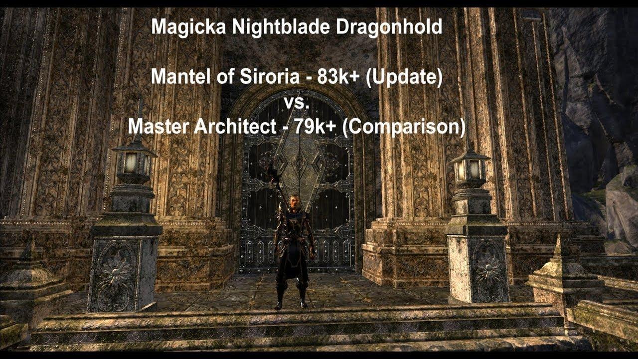 Siroriamaster Dragonholdupdateamp; Comparison Nightblade Magicka Architect KJ1cFl
