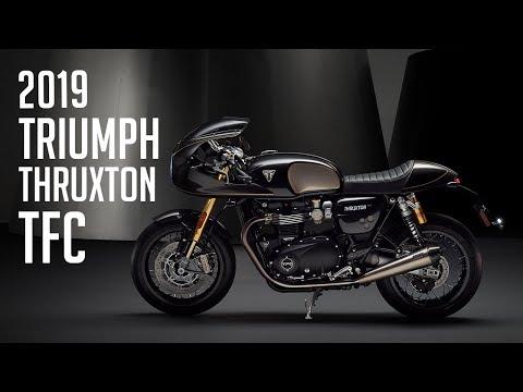 Triumph Thruxton TFC & Concept Rocket TFC // K Image Montage From Launch Event