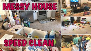 TIME LAPSE CLEAN WITH ME | MESSY HOUSE