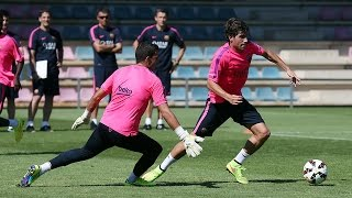Training session 23-7-14 (morning)