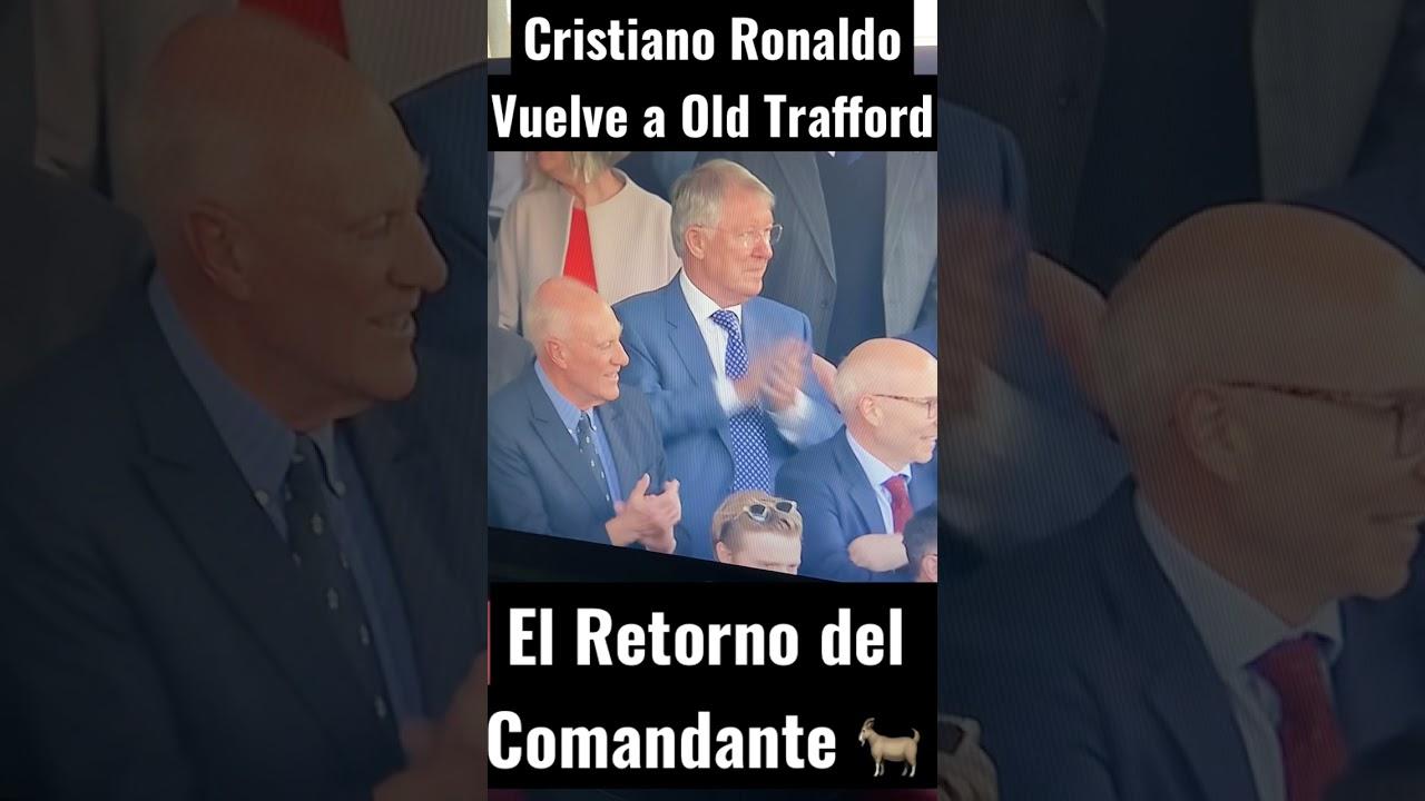 El Regreso de CRISTIANO RONALDO a Old Trafford con la Camiseta del United (11-09-2021) #Shorts