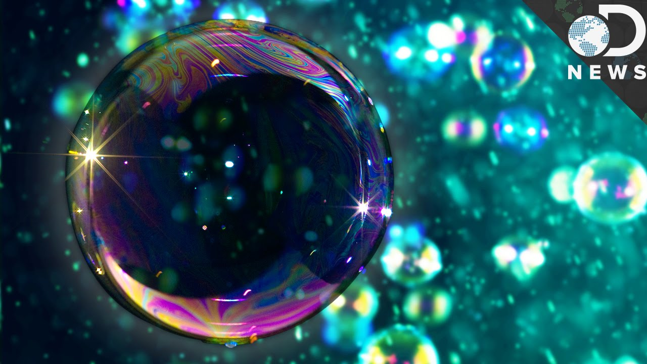 why do soap bubbles have rainbow swirls youtube