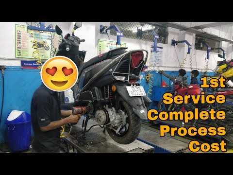 TVS NTORQ   FIRST SERVICE COST   100K Complete   VBO Life   2018