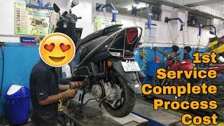 TVS NTORQ | FIRST SERVICE COST | 100K Complete | VBO Life | 2018