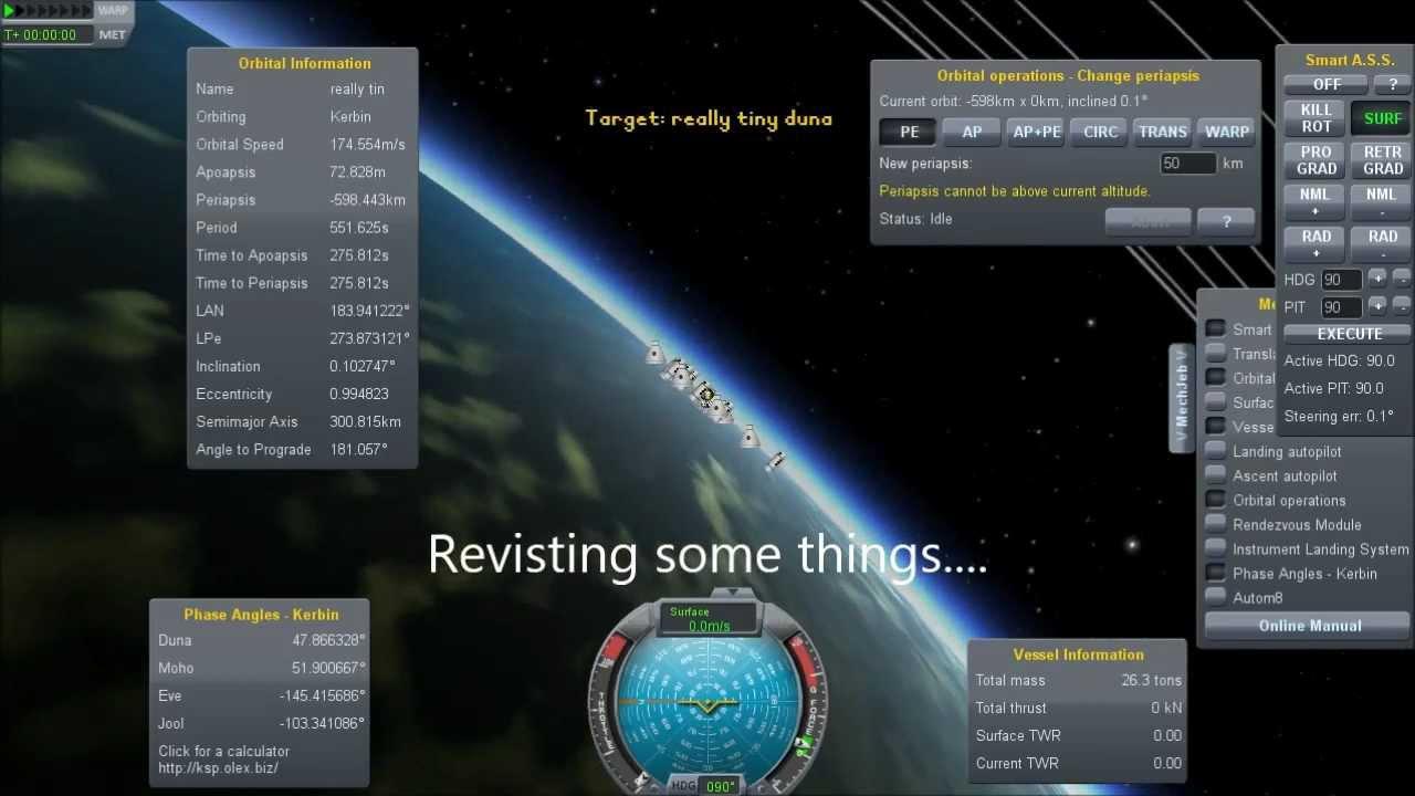 26 Ton Interplanetary Rocket & Land Speed Records - Kerbal Space Program