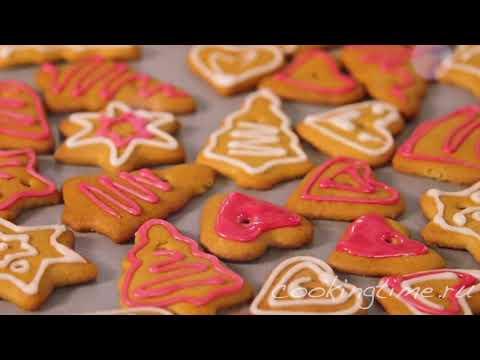 Новогоднее печенье Снежинка рецепт с фото 1000menu