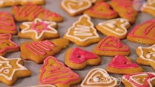 ИМБИРНОЕ ПЕЧЕНЬЕ - как приготовить праздничное печенье / новогодний рецепт / вкусная выпечка