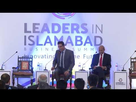 In Conversation with Wasim Akram @ LEADERS IN ISLAMABAD