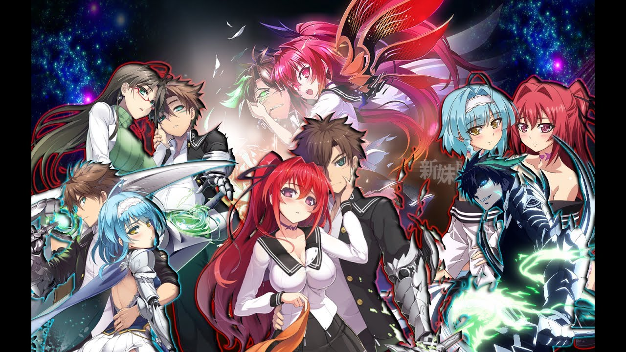 Shinmai maou no testament anime