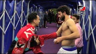 مشجع وعده «الكابيتانو» بقميصه الشوط الثاني فأوفى: نفسي أشوف «غالي» في كأس العالم