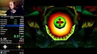 Ocarina of Time Any% speedrun in 17:32