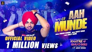 Aah Munde Khatre Da Ghuggu Jordan Sandhu Free MP3 Song Download 320 Kbps