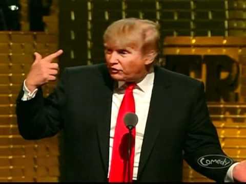 Roast of Donald Trump - Trump burns the Situation