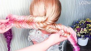 2 Простые и Красивые Прически на 1 сентября На Длинные Волосы. Back to School 2018 Hairstyles