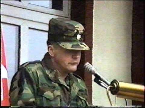 Award Ceremony at 106th Transportation Battalion, Russelsheim Germany   (cont. part 4 of 4)