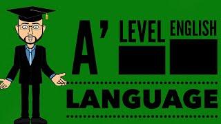 A' Level English Language: Genre, Register, Audience, Subject, Purpose