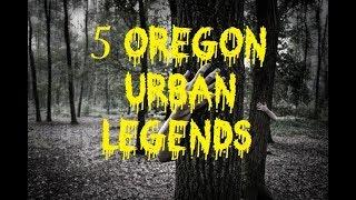 Creepy Oregon Stories Legends