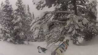 Kate Wood - The game of powder. Snowboarding in Breckenridge