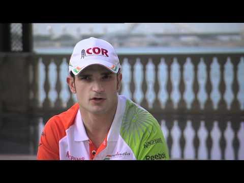 F1 - Interview with Vitantonio Liuzzi (Force India) - 2010 season review (Italian)