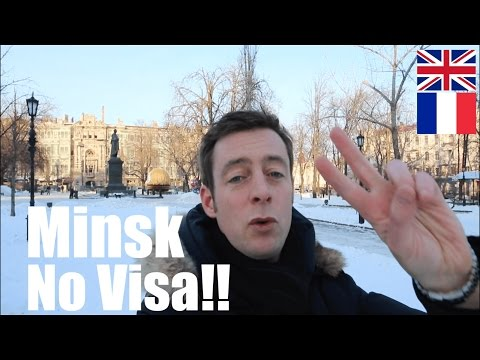 MINSK, BELARUS - First European Without a Visa?! Travel Vlog
