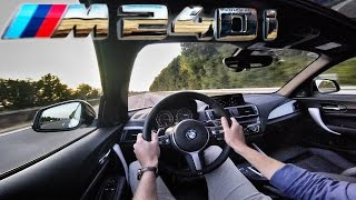 BMW M240i TOP SPEED AutoBahn Acceleration Test Drive Onboard