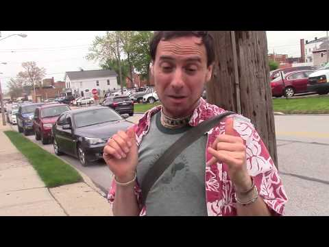 Willoughby Rib fest PART 1, pep talking myself walking to set up