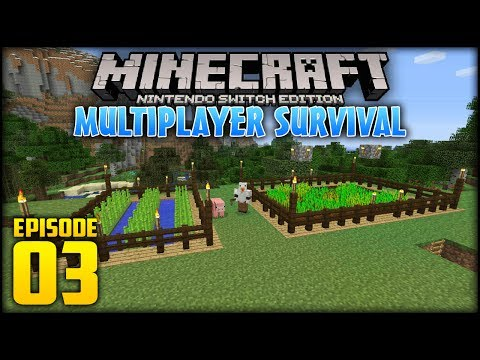 Minecraft: Switch Edition Multiplayer Survival - (w/moomooma
