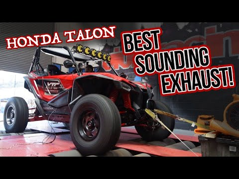 The Best Sounding Honda Talon Exhaust Ever!