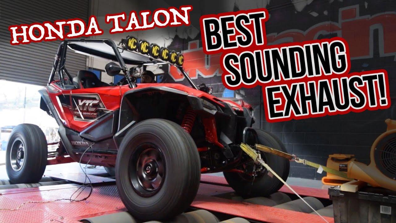 the best sounding honda talon exhaust ever