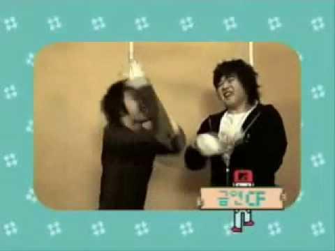 Crazy Donghae and Shindong (anti smoking cut)