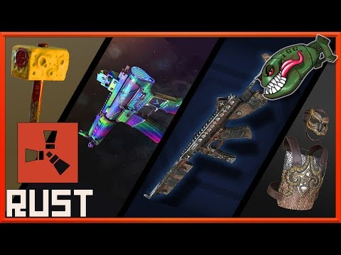 Rust Top Skins | Metal Head Thompson, X-Ray Bolty, Holo & Caution LRs #38 (Rust Skin Picks) thumbnail