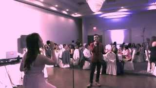 Nothing's Gonna Stop Us Now - Dabu Siblings (live wedding performance)