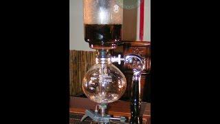 Варим шу пуэр Лао Ча Тоу в сифоне! Обзор вакуумного сифона для варки кофе и чая!