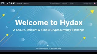 Hydax Exchange. Hydax Affiliate Program(upcoming. Perpetual Contract Trading Master Recruitmentr;