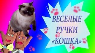 Веселые ручки ♥Сиамская кошка♥ Развивающие мультики для детей