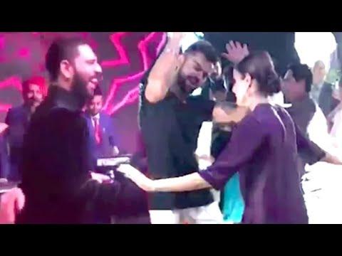 Virat Kohli Dance On Janudi Milgi Re Superhit Song 2017