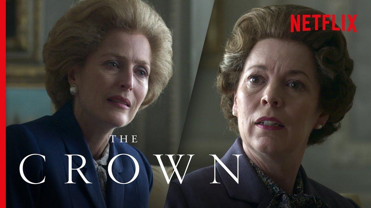 Download Queen Elizabeth II Meets Margaret Thatcher (Full Scene) | The Crown