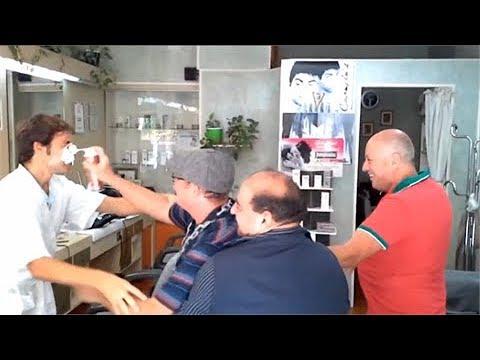 il barbiere più famoso del mondo sbaglia e finisce in rissa a Palermo