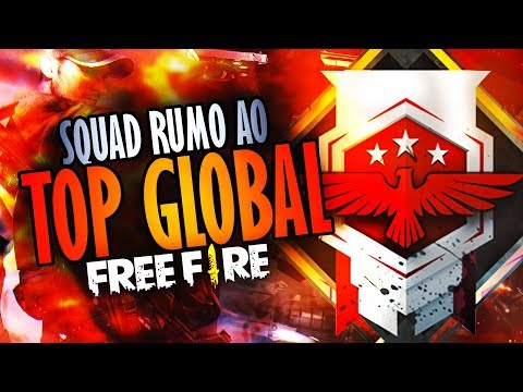 [🔴 LIVE #61] FREE FIRE ~ SQUAD RUMO AO TOP GLOBAL #SQUADMESTRE