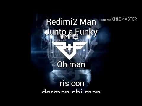 no me conformo de funky y redimi2