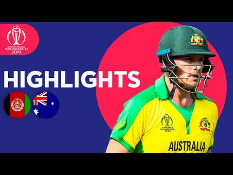 ICC Cricket World Cup 2019: Australia v Afghanistan: Match 4