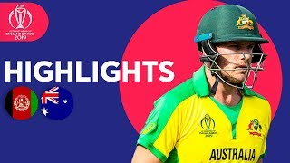 vuclip David Warner Hits 89* | Afghanistan vs Australia - Match Highlights | ICC Cricket World Cup 2019