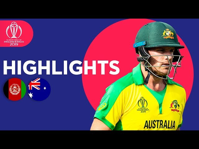 David Warner Hits 89* | Afghanistan vs Australia | ICC Cricket World Cup 2019 - Match Highlights