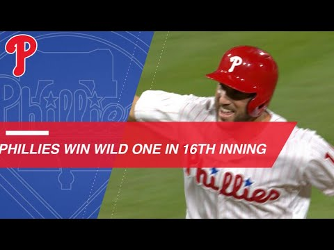 Plouffe belts walk-off homer to lift the Phillies in 16th