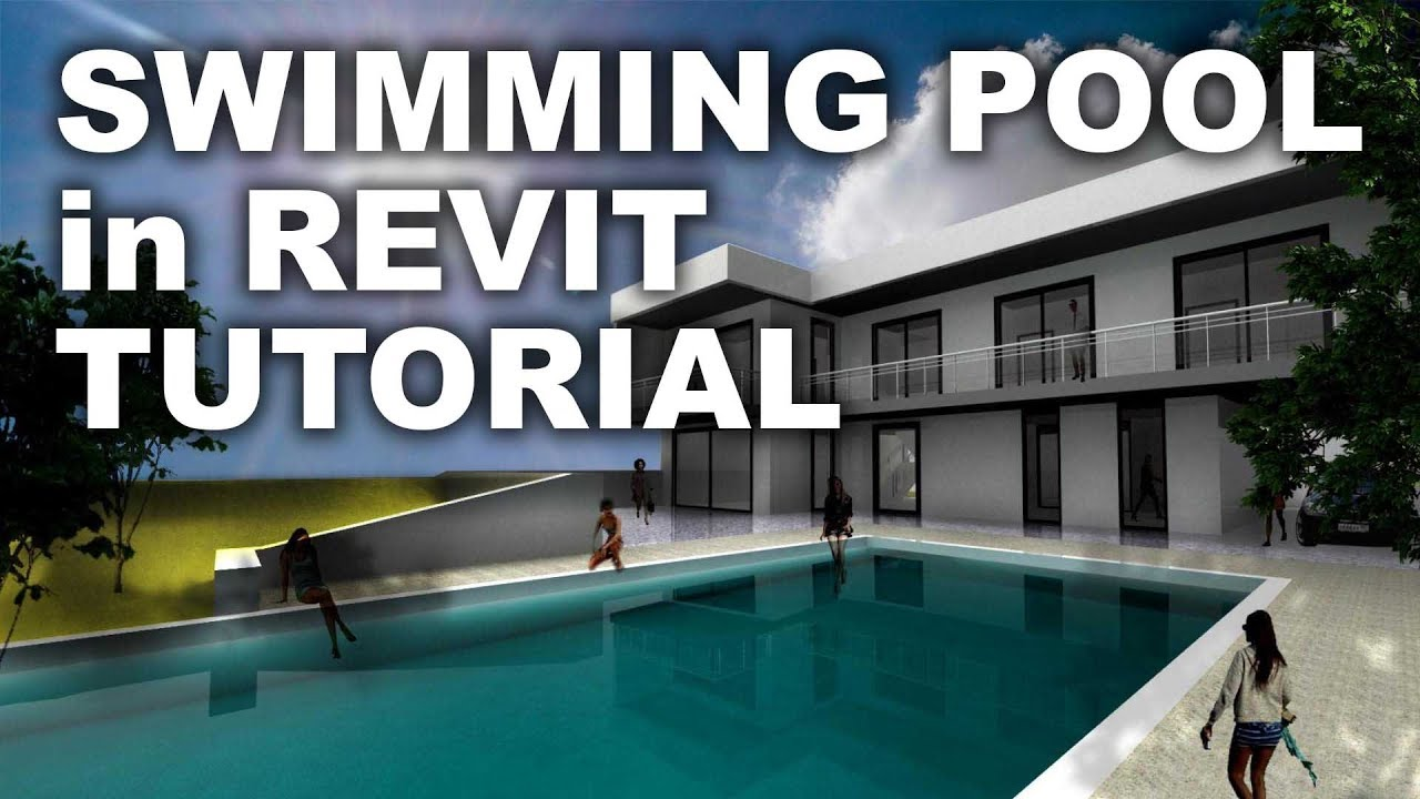 Swimming pool in revit tutorial youtube for Pool design course