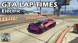 Fastest Electric Cars 2019 Gta 5 Best Fully Upgraded Cars Lap Time Countdown Youtube